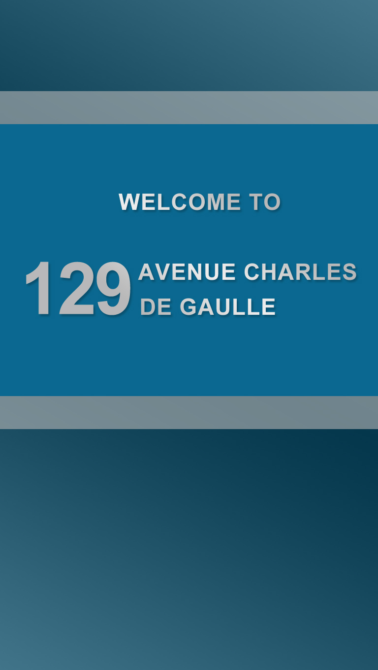 129 Charles de galle welcome